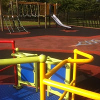 Photo taken at Riverhouse Gardens Play Area by Wissy B. on 9/16/2011