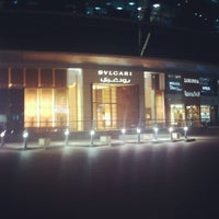 Photo taken at BVLGARI by Hadeel A. on 4/10/2012