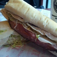Photo taken at Jimmy John's by Brandon F. on 12/28/2011