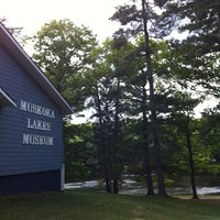 Photo taken at Muskoka Lakes Museum by Joan W. on 5/31/2012