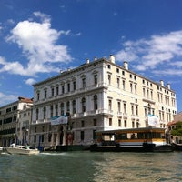Photo taken at Palazzo Grassi by Filippo P. on 5/2/2012