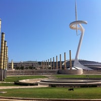 3/24/2012 tarihinde Jesus C.ziyaretçi tarafından Anella Olímpica'de çekilen fotoğraf