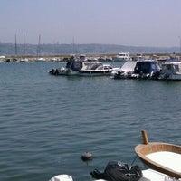 Photo taken at Buyukcekmece Yelken Club by Ozan Y. on 5/2/2012