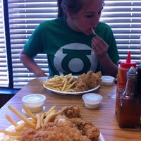 Photo taken at Smithfield's Chicken 'N Bar-B-Q by Katie on 7/9/2012