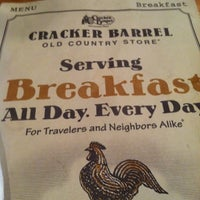 Photo taken at Cracker Barrel Old Country Store by Bobby H. on 2/24/2012