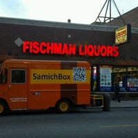 Photo taken at Fischman Liquors & Tavern by Gary G. on 4/22/2012