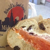 Photo taken at H&H Midtown Bagels East by Ji yeon K. on 3/27/2012