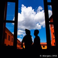 Photo taken at Palazzo d'Accursio - Palazzo Comunale by Wungenz on 7/9/2012