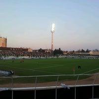 Photo taken at Rohonci úti stadion by Zsolt B. on 3/25/2012