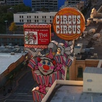 Photo taken at Circus Circus Reno Hotel & Casino by Tony D. on 9/2/2012