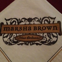 Photo taken at Marsha Brown by Steve M. on 5/18/2012