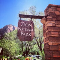 Photo taken at Zion National Park by Justin K. on 5/20/2012