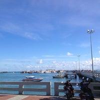 Photo taken at Bali Hai Pier by takakoji on 8/25/2012