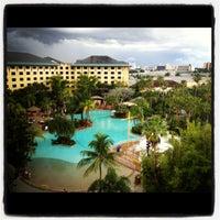 Photo taken at Loews Royal Pacific Resort at Universal Orlando by Kate K. on 8/11/2012