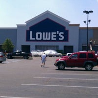 Photo taken at Lowe's Home Improvement by Julie N. on 6/21/2012