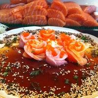 Photo taken at Mori Sushi by Bruna B. on 9/1/2012