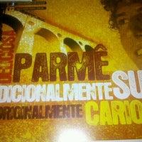 Photo taken at Parmê by Gabriela D. on 5/21/2012