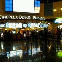 Photo taken at Cineplex Odeon South Edmonton Cinemas by Don P. on 8/11/2012