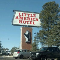 Photo taken at The Little America Hotel - Flagstaff by Khent K. A. on 3/1/2012