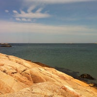 Photo taken at Sandy Cove by Claire on 8/15/2012