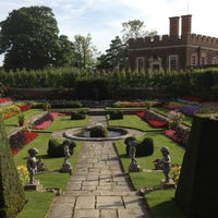 Photo taken at Hampton Court Palace Gardens by Monish D. on 9/6/2012