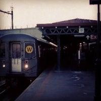 Photo taken at MTA Subway - Astoria/Ditmars Blvd (N/W) by Aerik V. on 4/16/2012