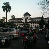 Photo taken at Gedung Sate by oecox 1. on 7/30/2012