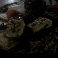 Photo taken at Angkringan Nasi Kucing Mas Jojo by Awe Y. on 4/13/2012