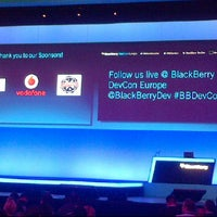 Photo taken at BlackBerry DevCon Europe at the Amsterdam RAI Convention Centre by Dennis R. on 2/7/2012