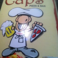 Photo taken at Cap's Pizza & Bar by JOE 0. on 3/29/2012