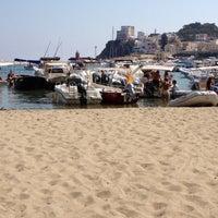 Photo taken at Spiaggia al porto by Chiara on 8/21/2012