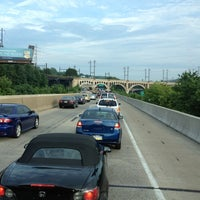 Photo taken at Schuylkill Expressway by ⚡ The G. Man ⚡ on 7/27/2012