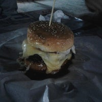 Photo taken at Burger Bakar Abang Burn by Muhammad B. on 7/28/2012