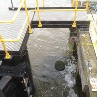 Photo taken at Woolwich Ferry by Darren F. on 6/27/2012