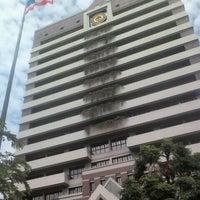 Photo taken at Bangkok University by Bowwii on 6/23/2012