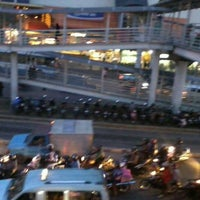 Photo taken at Halte TransJakarta PGC by Sis M. on 6/11/2012