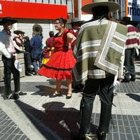 Photo taken at Paseo Independencia by Cata O. on 9/2/2012