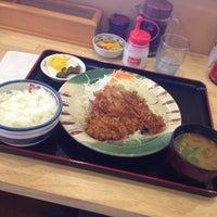 Photo taken at かつさと 船越バイパス店 by みきぽ on 6/20/2012