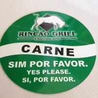 Photo taken at Rincão Grill by Guilherme B. on 7/15/2012