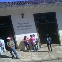 Photo taken at Terminal Rodoviário de Ouro Preto by Duban A. on 7/14/2012