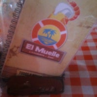 Photo taken at El Muelle - Cockteleria & Beer by David P. on 7/21/2012