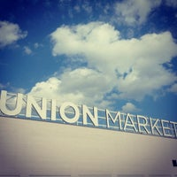 Photo taken at Union Market by Joe W. on 9/8/2012
