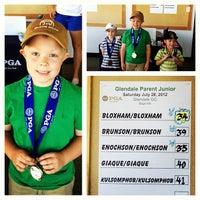 Photo taken at Glendale Golf Course by Jordan B. on 7/28/2012