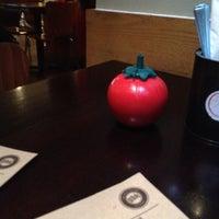 Photo taken at Gourmet Burger Kitchen by Desmond P. on 4/12/2012