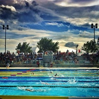 Photo taken at Stadio Del Nuoto by Matteo C. on 6/10/2012