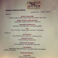 Photo taken at Oaxaca Kitchen by Marie G. on 3/26/2012