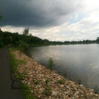 Photo taken at Falls Township Park by Ashley S. on 6/25/2012