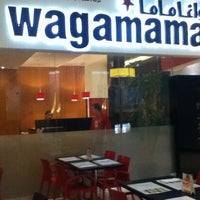 Photo taken at wagamama by Jonathan R. on 4/26/2012