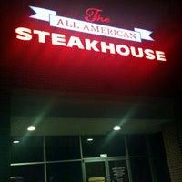 8/14/2012 tarihinde Charles G.ziyaretçi tarafından All American Steakhouse'de çekilen fotoğraf