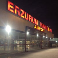 Photo taken at Erzurum Airport (ERZ) by Orcun B. on 3/8/2012